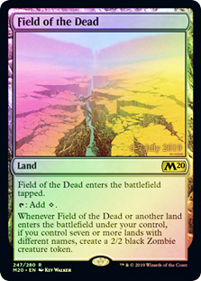 Field of the Dead - Foil - Prerelease Promo