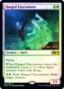Hanged Executioner - Foil - Prerelease Promo