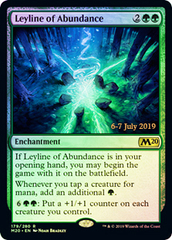 Leyline of Abundance - Prerelease Promo (M20) Core Set 2020 FOIL