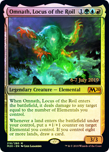 Omnath, Locus of the Roil (M20 Prerelease Promo)