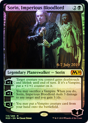 Sorin, Imperious Bloodlord - Prerelease Promo (M20) Core Set 2020 FOIL