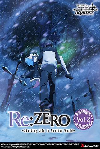 Re:Zero Starting Life In Another World Vol 2 - Booster Box