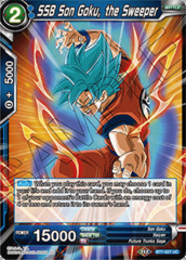 SSB Son Goku, the Sweeper - BT7-027 - UC - Foil