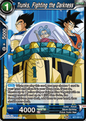 Trunks, Fighting the Darkness - BT7-031 - C - Foil