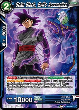 Son Goku Dragonball Super Black Saiyan Transcendence BT7-129 ISR