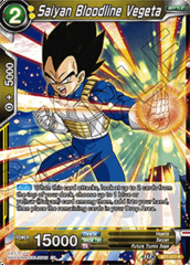 Saiyan Bloodline Vegeta - BT7-077 - R