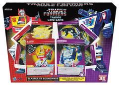 Blaster vs Soundwave 35th Anniversary Edition