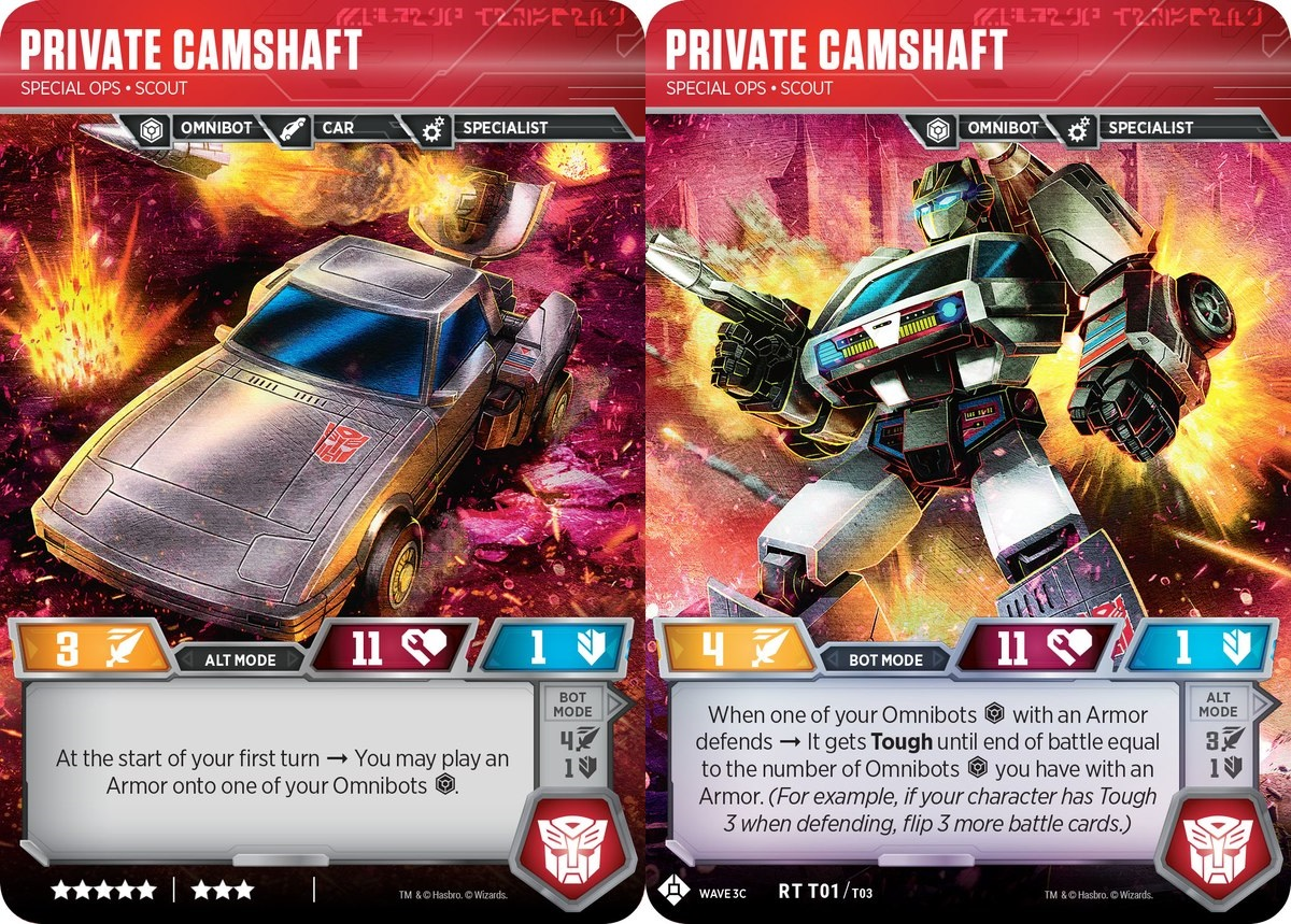 Private Camshaft // Special Ops Scout