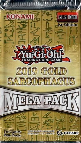 2019 Gold Sarcophagus Tin Mega Pack