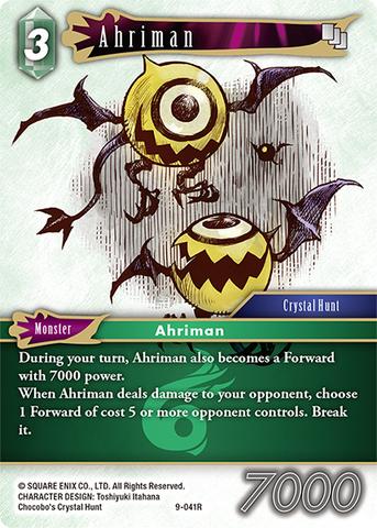 Ahriman - 9-041R - Foil