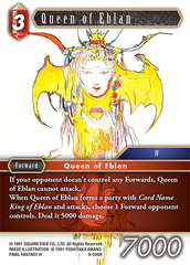 Queen of Eblan - 9-006H - Foil