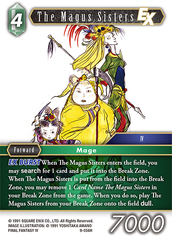 The Magus Sisters EX - 9-056H - Foil