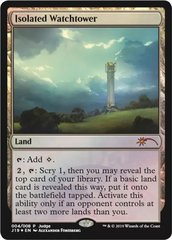 Isolated Watchtower - Foil DCI Judge Promo
