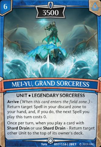 Mei-Yu, Grand Sorceress