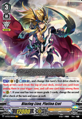 Blazing Lion, Platina Ezel - V-BT05/003EN - VR on Channel Fireball