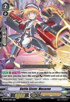 Battle Sister, Macaron - V-BT05/018EN - RR