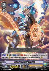 Filled Feather Dragon - V-BT05/043EN - C on Channel Fireball