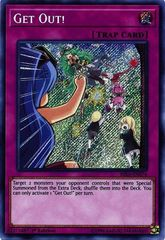 Get Out! - RIRA-EN076 - Secret Rare - 1st Edition