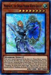 Morpheus, the Dream Mirror White Knight - RIRA-EN087 - Super Rare - 1st Edition