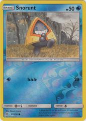 Snorunt - 37/236 - Common - Reverse Holo