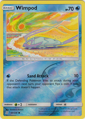 Wimpod - 50/236 - Common - Reverse Holo