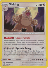 Slaking - 170/236 - Holo Rare