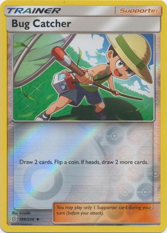Bug Catcher - 189/236 - Uncommon - Reverse Holo