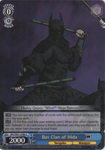 Bat Clan of Hida - BNJ/SX01-078b C - Other TCGs and LCGs