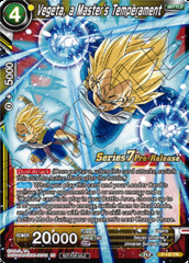 Vegeta, a Masters Temperament - P-137 - Pre-release (Assault of the Saiyans)
