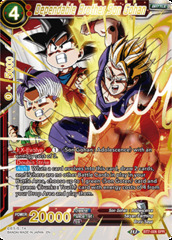 Dependable Brother Son Gohan - BT7-006 - SPR
