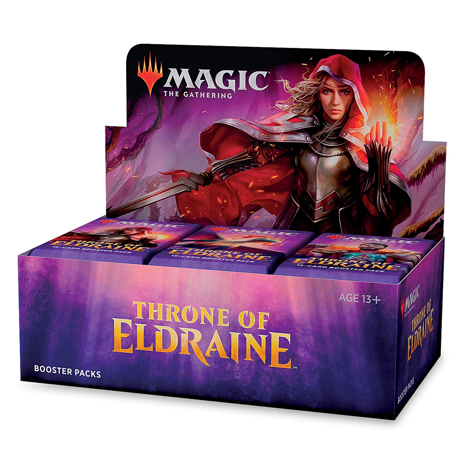 Throne of Eldraine Booster Box (Includes Buy-A-Box & Collectors Pack)(Promo items 1 per customer)