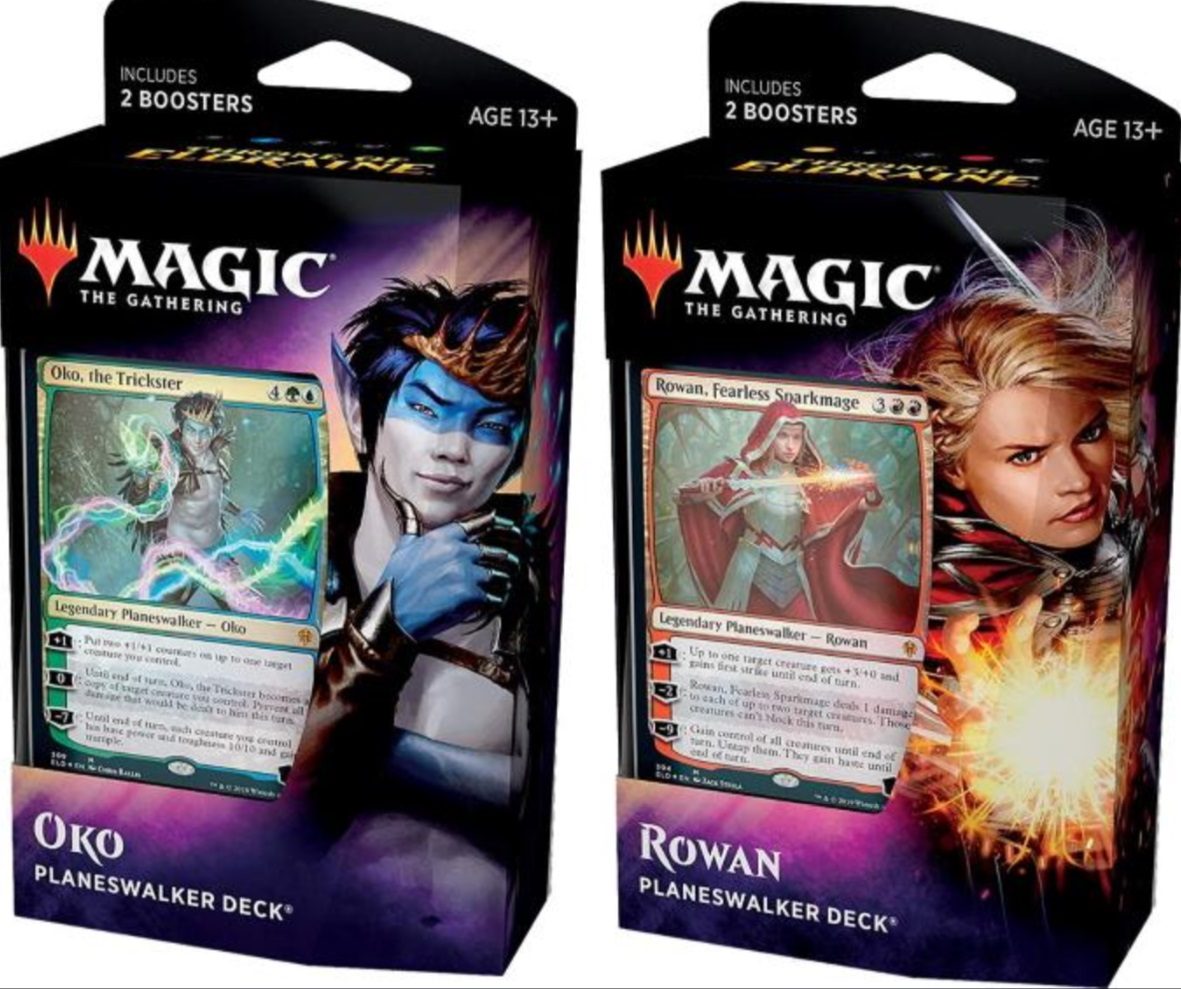 Throne of Eldraine Planeswalker Decks - Set of 2