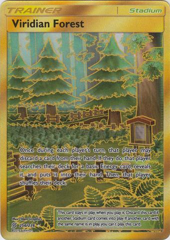 Viridian Forest - 256/236 - Secret Rare