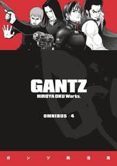 Gantz Omnibus Trade Paperback Vol 04 (Mature Readers)