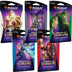 Throne of Eldraine Theme Booster (Set of 5)
