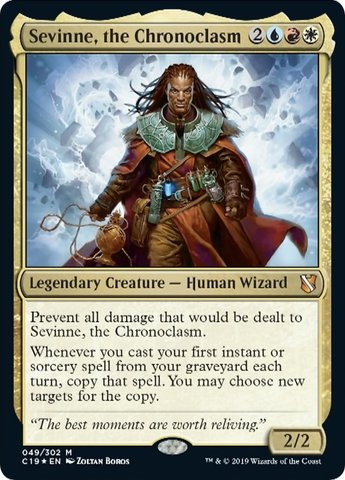 Sevinne, the Chronoclasm - Foil