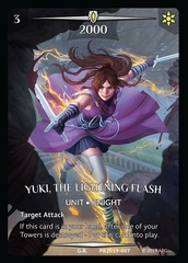 Yuki, the Lightning Flash (Full Art)