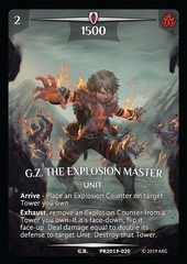 G.Z. the Explosion Master (Full Art)