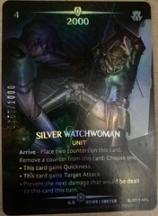 Silver Watchwoman (Serial Numbered)