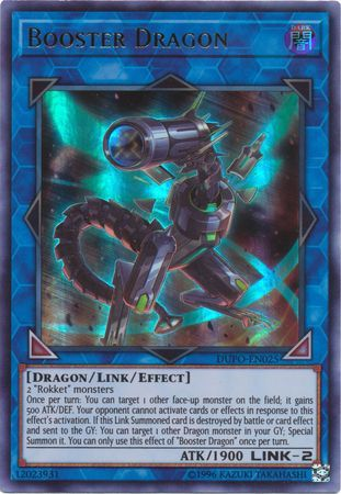Booster Dragon - DUPO-EN025 - Ultra Rare - Unlimited Edition