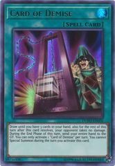 Card of Demise - DUPO-EN050 - Ultra Rare - Unlimited Edition