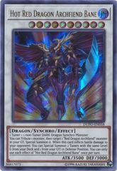 Hot Red Dragon Archfiend Bane - DUPO-EN058 - Ultra Rare - Unlimited Edition