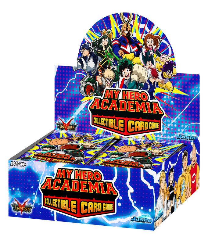 My Hero Academia Collectible Card Game Booster Box