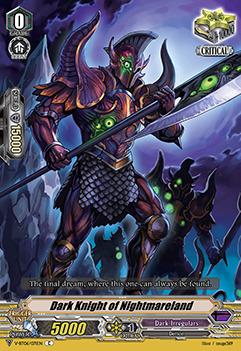 Dark Knight of Nightmareland - V-BT06/071EN - C