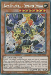 Boot-Up Admiral - Destroyer Dynamo - FIGA-EN002 - Secret Rare - 1st Edition on Channel Fireball