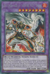 Brotherhood of the Fire Fist - Swan - FIGA-EN015 - Secret Rare - 1st Edition