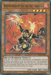 Brotherhood of the Fire Fist - Gorilla - FIGA-EN022 - Super Rare - 1st Edition