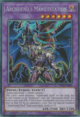 Archfiend's Manifestation - FIGA-EN034 - Secret Rare - 1st Edition on Channel Fireball