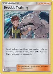 Brock's Training - 55/68 - Holo Rare