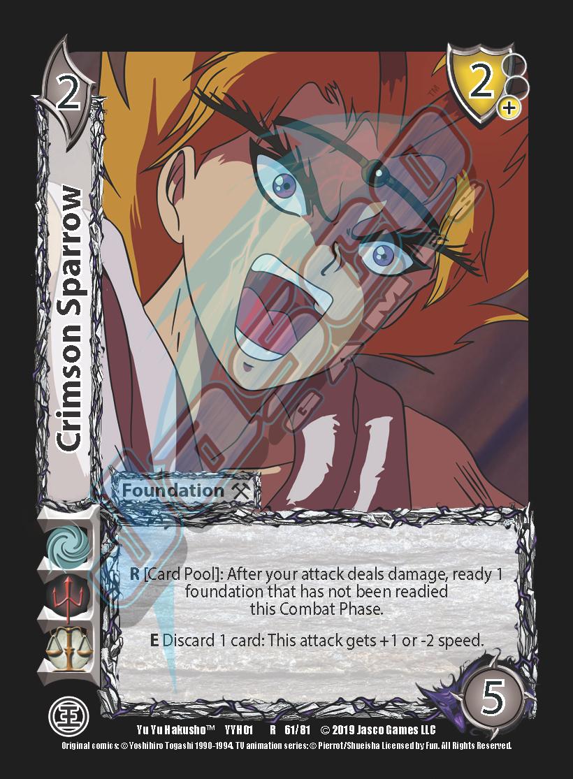 Crimson Sparrow
